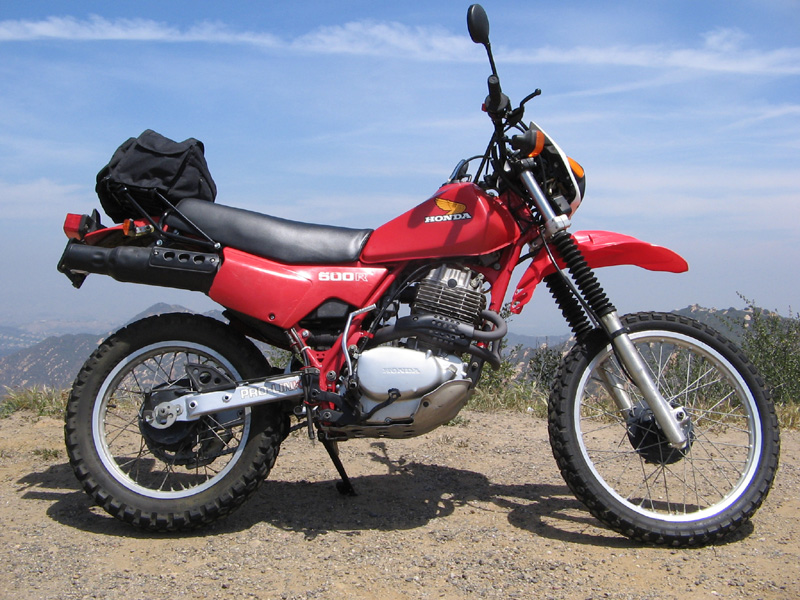 HondaXL500R XR500 Motorcycle Right Side