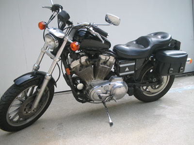 Harley Davidson vibration