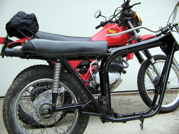 BSA A65 Lightning Motorcycle Height