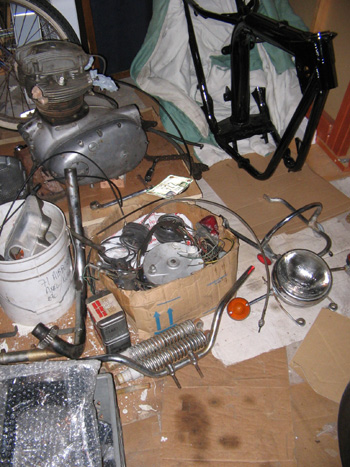 BSA A65 Lightning Motorcycle Parts