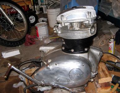BSA A65 Lightning Motorcycle Engine