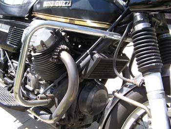 Moto-Guzzi V1000 Convert Fork Gaiters