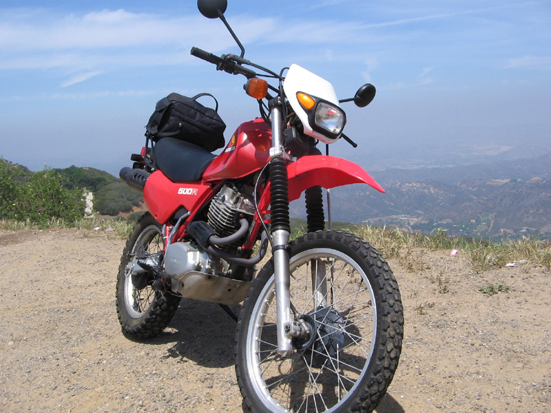 Honda XL500R XR500 Off Road Motorcycle Right Front