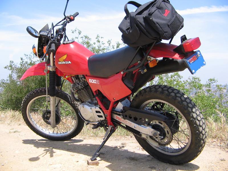 Honda Santa Monica >> 1982 Honda XL500R with XR500 Motor and how to kickstart it