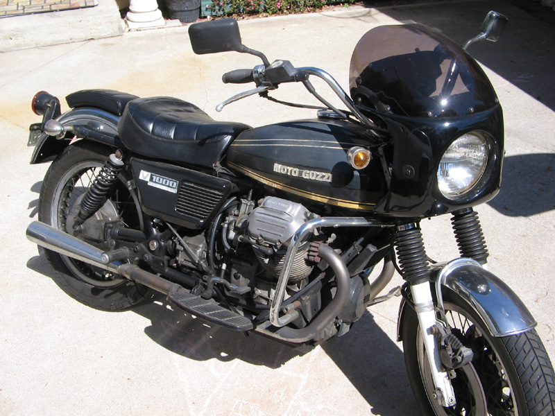 Moto-Guzzi V1000 Convert