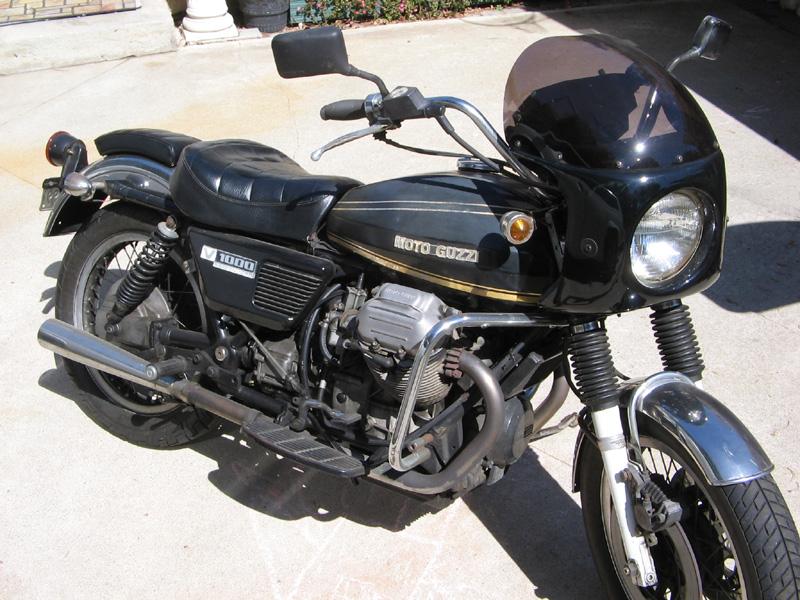 Moto-Guzzi V1000 Convert