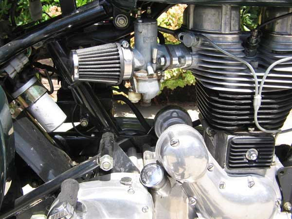 Royal Enfield Bullet 500 Amal Concentric Carb