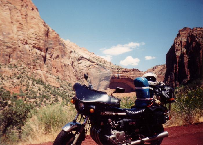 Suzuki GS1000 Motorcycle in Zion Utah